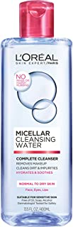 L'Oréal Paris Micellar Cleansing Water Complete Cleanser, 13.5 fl. oz.