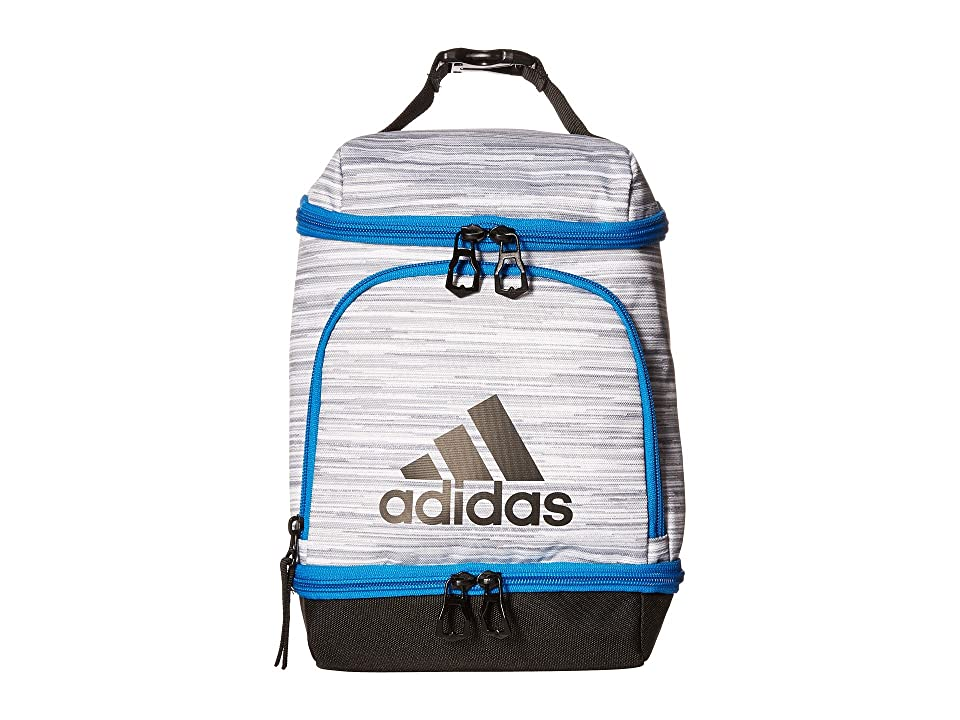 adidas Excel Lunch Bag (White Looper/Black/Bright Blue) Bags, Multi