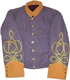 10Code US Civil War Confederate Cavalry Captain's Shell Jacket