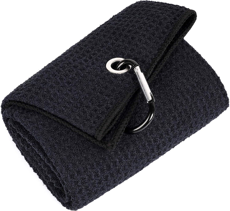 Mile High Life Tri-fold Golf Microfiber Fabric Towel Albuquerque Mall Sales Premium
