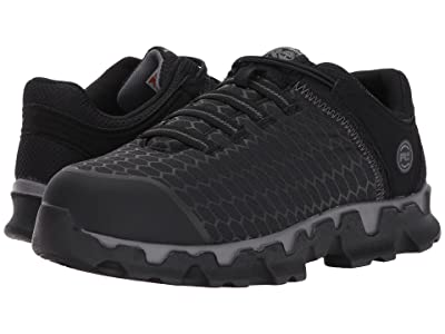 Timberland PRO Powertrain Sport Slip-On Alloy Safety Toe SD+ (Black Ripstop Nylon) Men