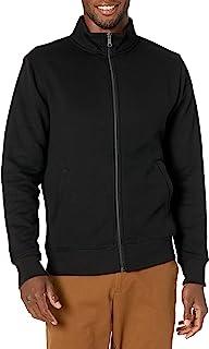 Men's Full-Zip Fleece Mock Neck Sweatshirt