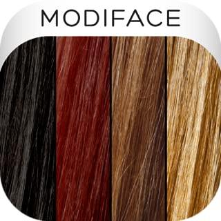 modiface hair color