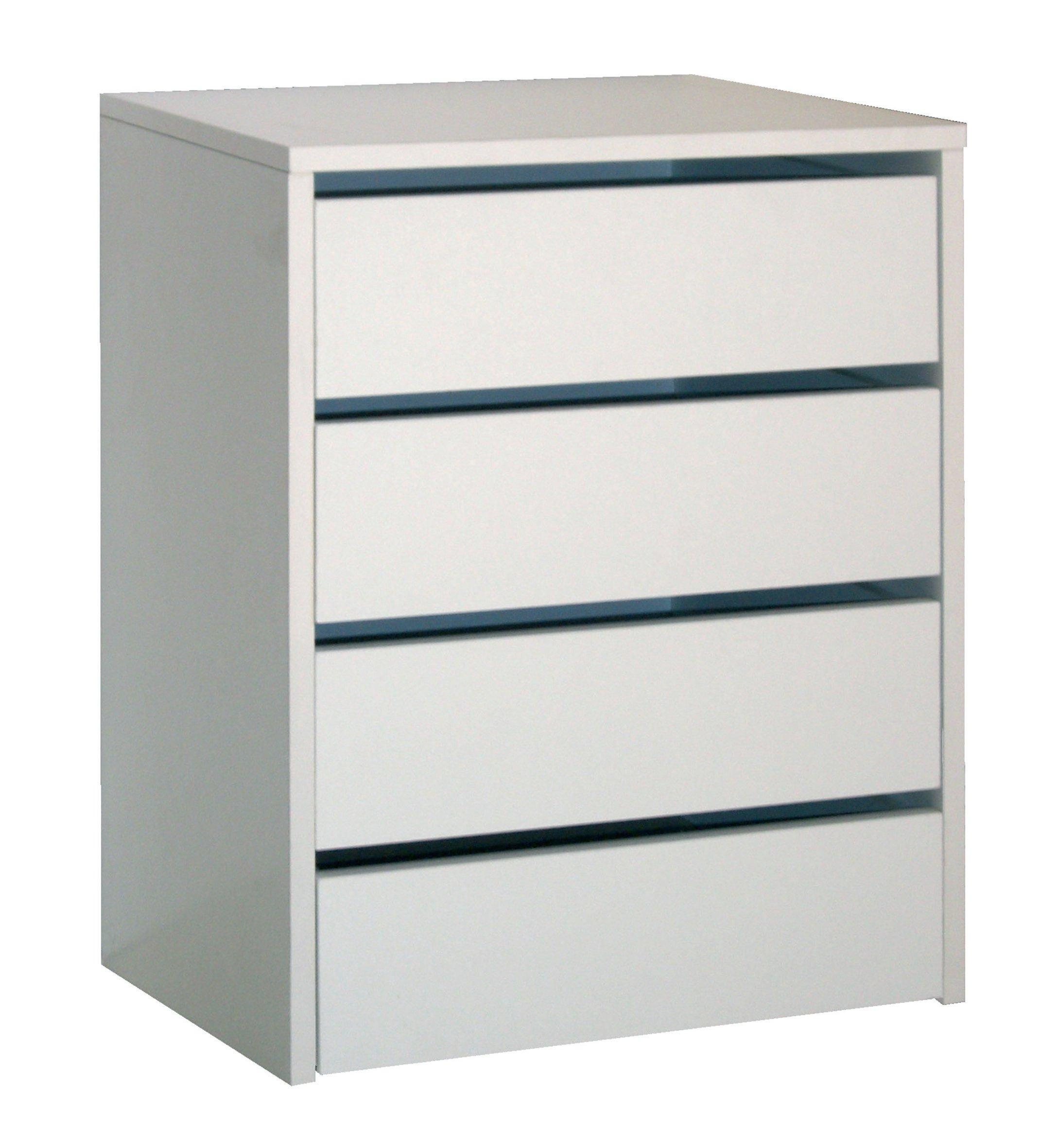 Ikea MALM – Juego de 4 cajones, Blanco, 80x100cm: Amazon.es: Hogar