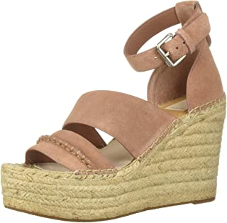 Dolce Vita Women's SIMI Wedge Sandal, Clay Suede, 8.5 M US