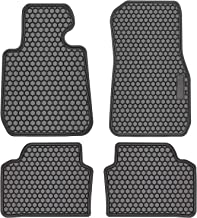 E-cowlboy Floor Mat Liner for BMW 3 Series F30 320i 328i 335i 2012~2018 & 2015+ F80 M3 Heavy Duty Rubber Front & Rear Car Carpet Custom Fit - All Seasons Odorless (Black)