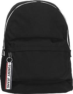 Tommy Jeans Logo Tape Backpack Nylon, Black, AM0AM05534