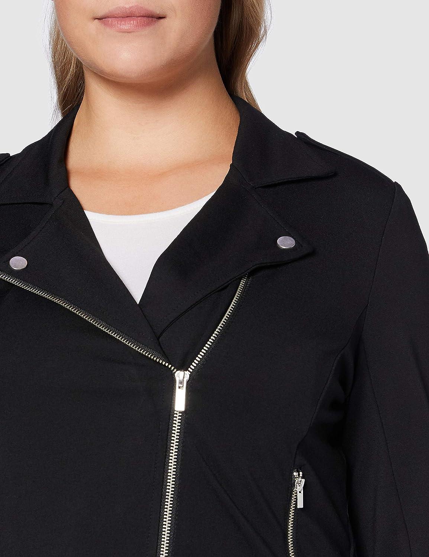 ONLY Carmakoma Cargoldtrash Biker Jacket Chaqueta para Mujer
