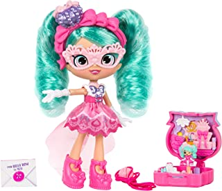 Shopkins Lil Secrets - Collectable Shoppie Doll with Wearable Locket, Shoppie Toy Inside - Bella Bow