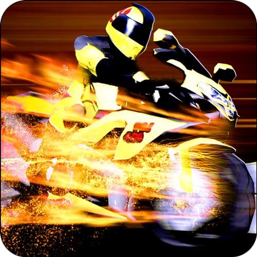 Fahrrad-Reiter-3D Motorbike Racing