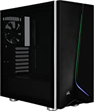 CORSAIR CARBIDE SPEC-06 RGB Mid-Tower Gaming Case, Tempered Glass- Black