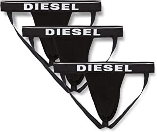 Diesel Men's Umbr-jockythreepack Jock Strap (Pack of 3)