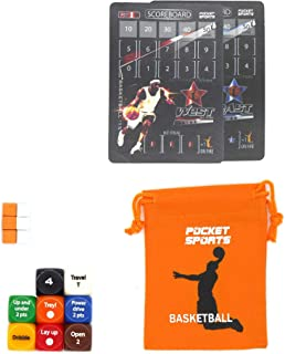 Pocket Sports Basketball Game Orange