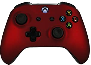 Xbox One S / X Soft Touch Custom Modded Rapid Fire Controller -Soft Shell For Comfort Grip X - Includes Largest Variety of Modes - Master Mod(Red)