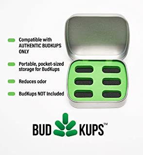 The Bud Case, Portable Storage Case for BudKups, The Loading Capsules for PAX2/3. Compatible with Real BudKups ONLY