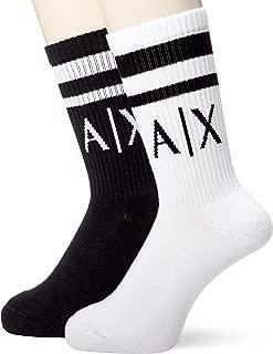 A X Armani Exchange Men's Logo Crew Socks