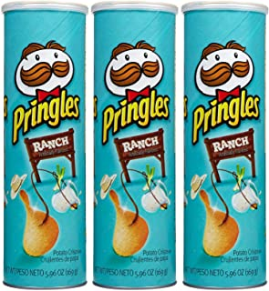 Pringles Chips - Ranch - 5.96 oz - 3 pk