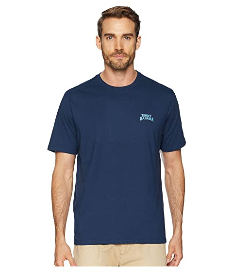 Cheap Sale Exclusive Clearance Cheapest Tommy Bahama Catch of The Day T-Shirt Navy Fast Delivery Cheap Online Top Quality Cheap Price Cheap Release Dates DchVVAvmFt