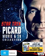 Star Trek: Jean-Luc Picard TV + Movie Collection (Star Trek: Generations/First Contact/Insurrection/Nemesis/Next Gen: Chain Of Command & Best Of Both Worlds) - 6 DISC (Blu Ray)