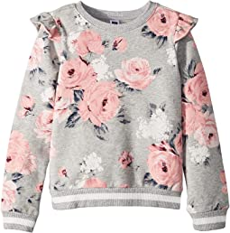 Ruffle Pullover Sweater (Toddler/Little Kids/Big Kids)