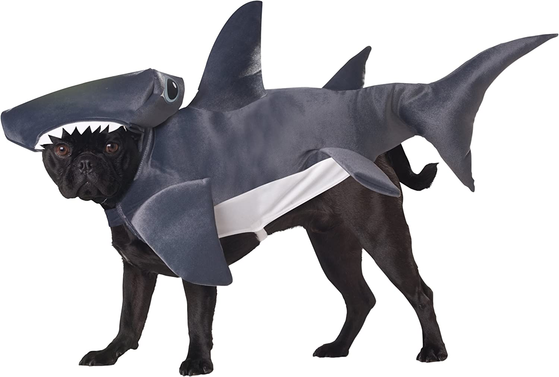 Animal Planet PET20107 Hammerhead Shark Dog Costume, XSmall