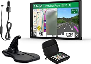 Garmin DriveSmart 55 & Traffic 2019 GPS Vehicle Navigation | Bundle w/Premium Dashboard Friction Mount & PlayBetter Protective Case | Traffic Avoidance, Voice-Activated + Directions, Hi-Res Display