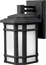 Hinkley 1270VK Craftsman/Mission One Light Wall Mount from Cherry Creek collection in Blackfinish,