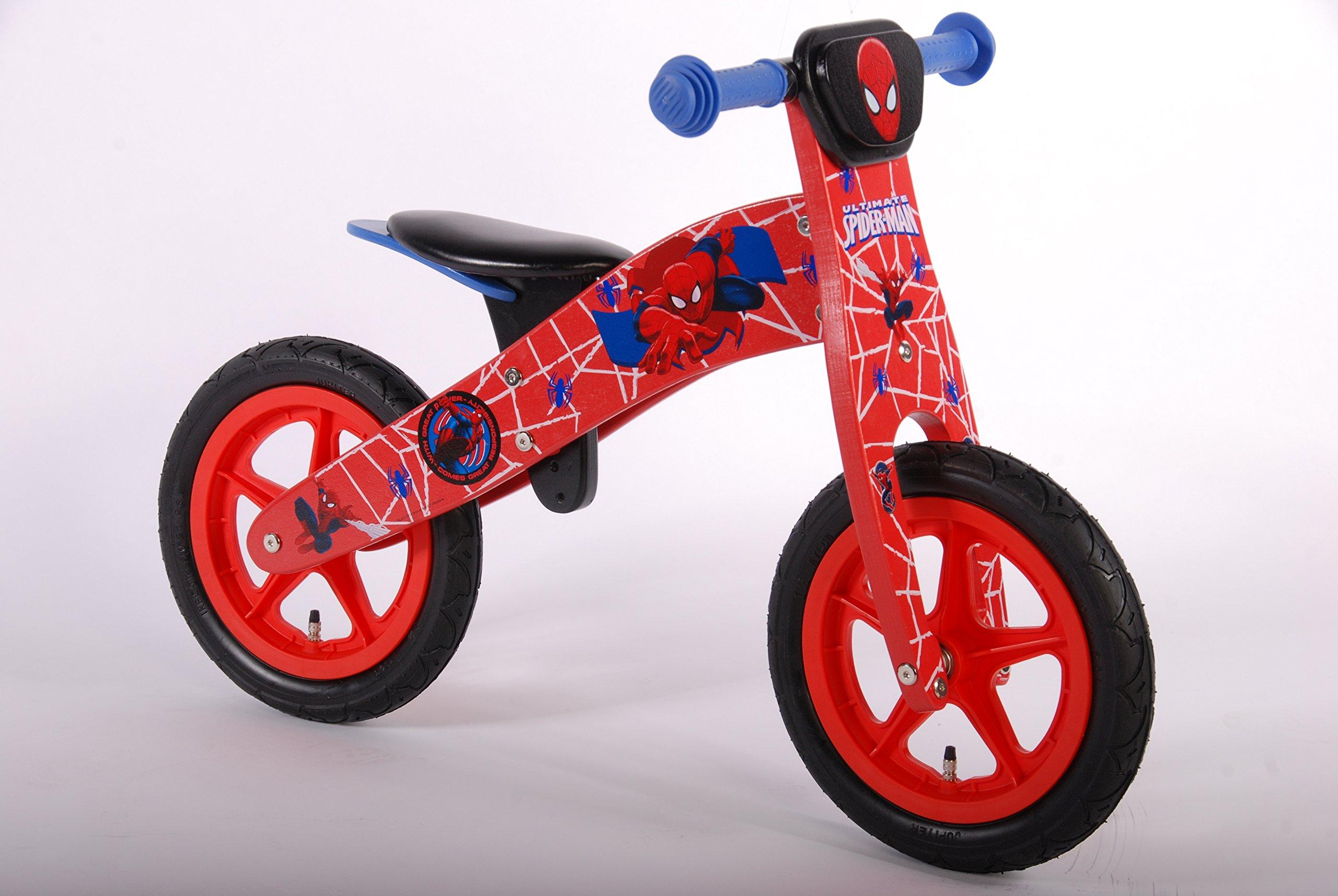 Marvel volare00553 12-Inch volare Bicicleta de Equilibrio de Madera de los niños: Amazon.es: Deportes y aire libre