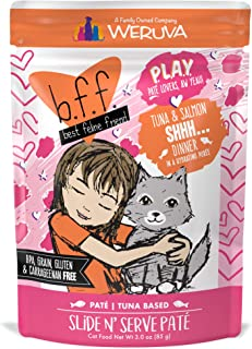 B.F.F. Play – Best Feline Friend Pate Lovers Aw Yeah! Grain-Free Natural Wet Cat Food Pouches