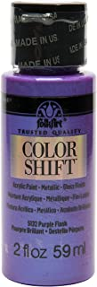 FolkArt Color Shift Acrylic Paint in Assorted Colors (2 ounce), 5132 Purple Flash