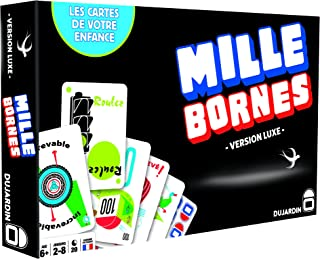 Dujardin - Board Game - 1000 Bornes - Black Series - The Game of The Coup-Fourr茅