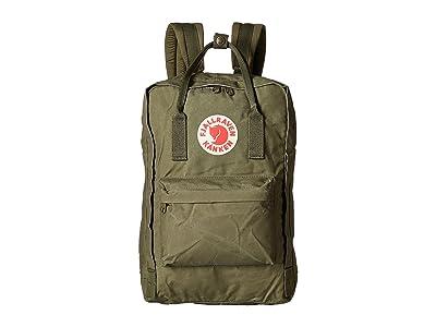 Fjallraven Kanken 15 (Green) Backpack Bags