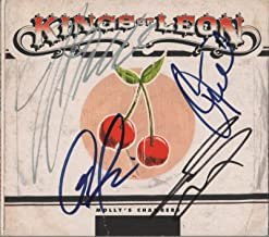 Kings Of Leon REAL hand SIGNED Molly's Chambers CD single COA Autographed