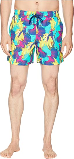 Moorea Birds of Paradise Swim Trunk