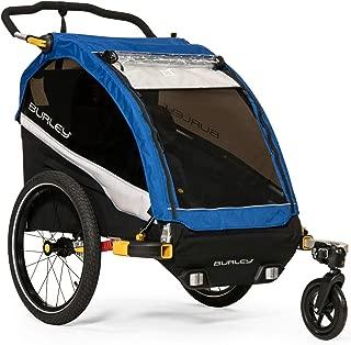 Burley D'Lite, 2 Seat Kids Bike Trailer & Stroller
