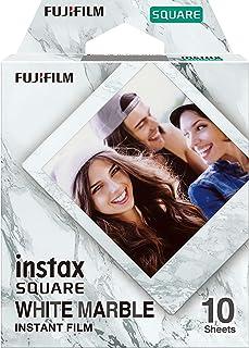 Fujifilm Instax - Película cuadrada de mármol blanco (10 exposiciones)