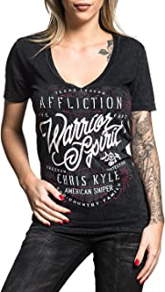 Affliction Chris Kyle Overwatch V-Neck Top M