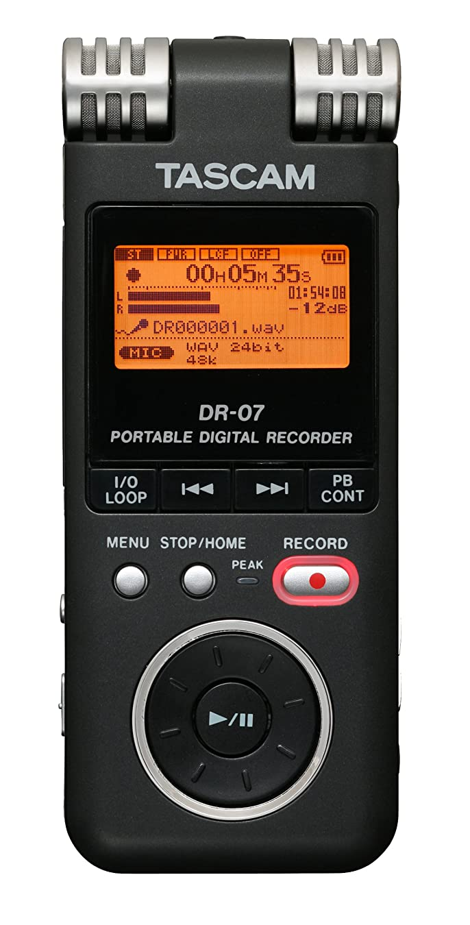 プールキモい入学するTASCAM ICレコーダー 高音質 DR-07