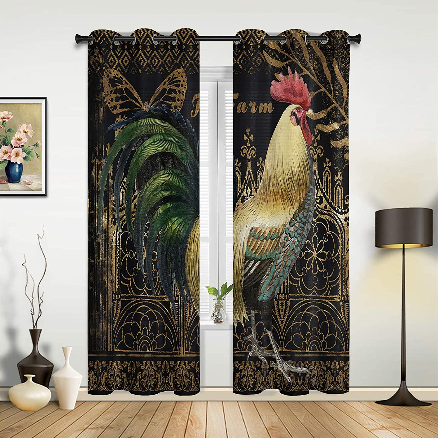 Beauty Decor Free Shipping New Window Sheer Curtains Farm for sold out Bedroom Room Living