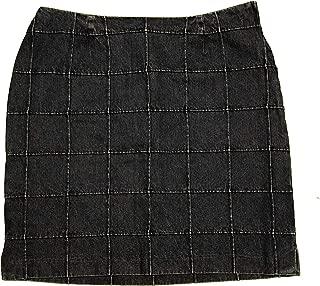 CHRISTOPHER & BANKS Women's Denim Jean Skirt 12 Blue