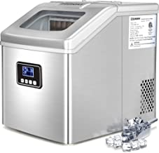 Euhomy Ice Maker Machine Countertop, 40Lbs/24H Portable Compact Ice Cube Maker with Ice..