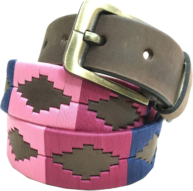 CARLOS DIAZ 予約販売品 Mens 人気激安 Womens Premium Unisex Leather Embroidered Brown