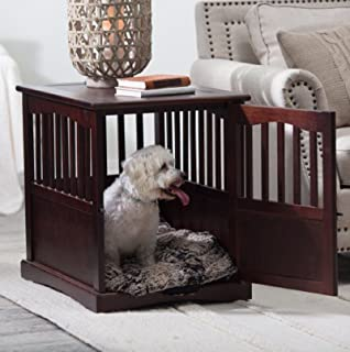 Polarbear's Shop New Wooden Pet Crate end Table Kennel cage Furniture Dog Pen Indoor House Bed Small