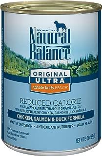 Natural Balance Original Ultra Whole Body Health Reduced Calorie Wet Dog Food