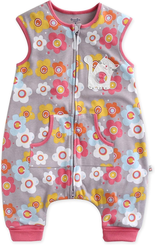 VAENAIT BABY 1-7Y Toddler Kids 100% Cotton Cotton Girls Boys Wearable Bunny Sheep Blanket Sleeper