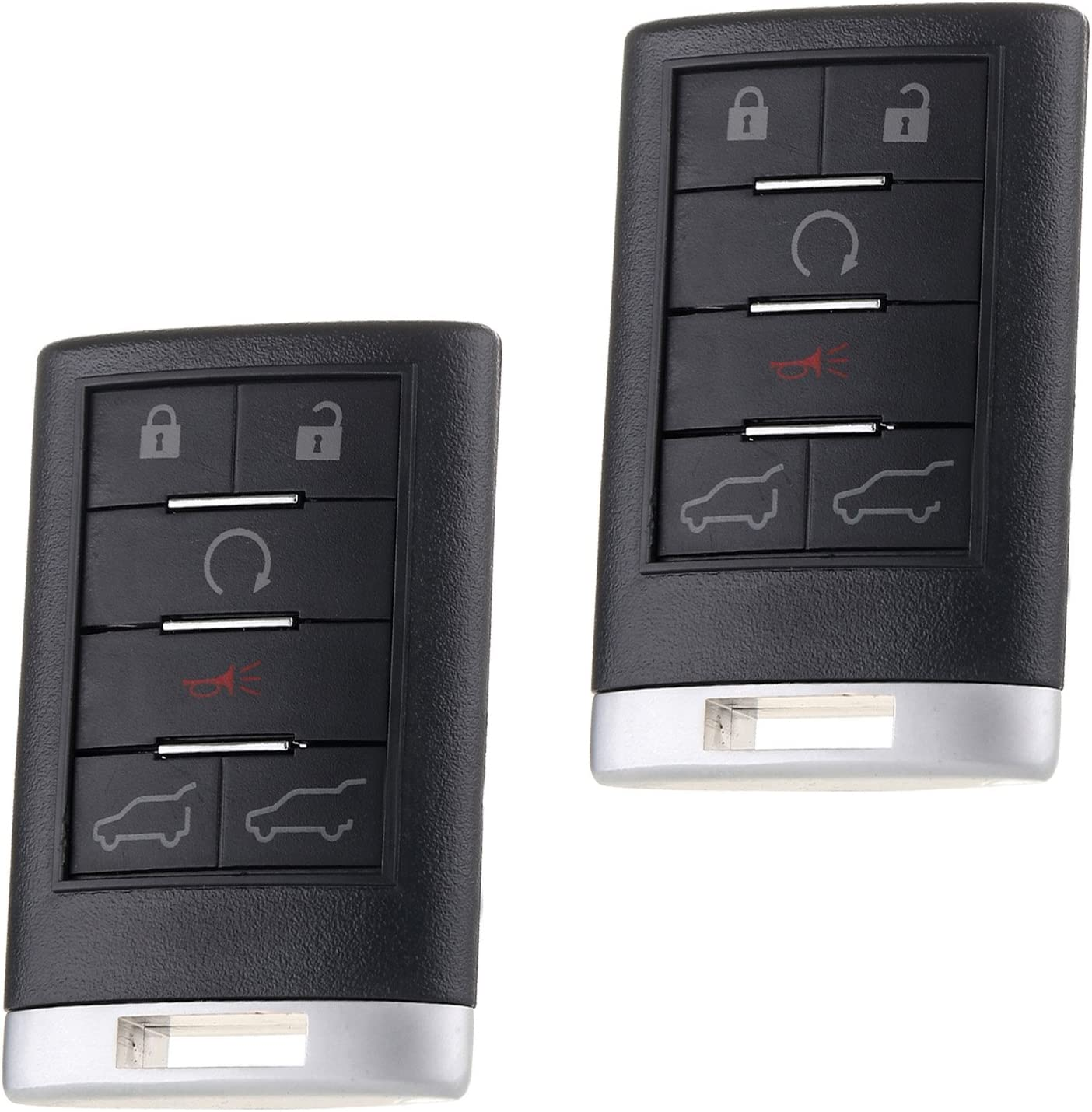 SCITOO 2X6 Button 正規品スーパーSALE×店内全品キャンペーン セール商品 Key Fob Keyless Entry C Remote Replacement fit