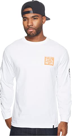 HUF - International Block Long Sleeve Tee