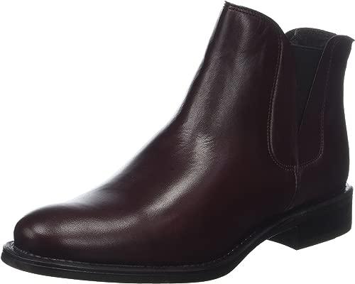 Damen V-Split Stiefel Stiefeletten