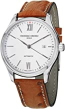 Frederique Constant Men's FC303WN5B6OS Index Analog Display Swiss Automatic Beige Watch