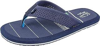 Original Penguin Mens Sandal, Flip Flop Sandal with Color Stripes, by Munsingwear,Men's Size 8 to 13